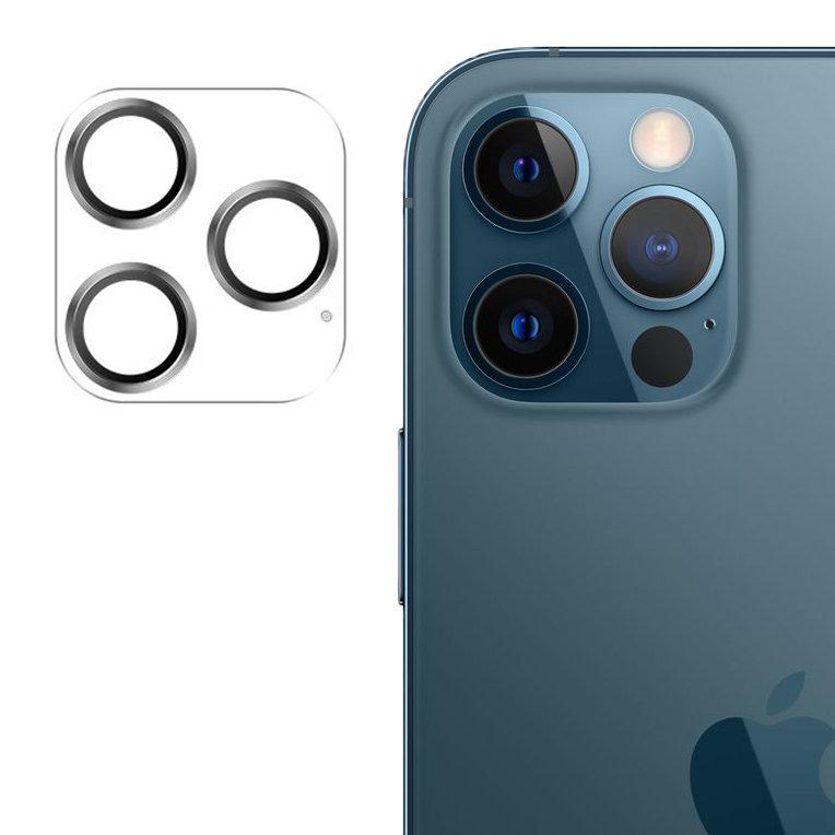 """Joyroom JR-PF689 stylové ochranné sklo na celý fotoaparát iPhone 12 Pro MAX 6,7"""" silver"""