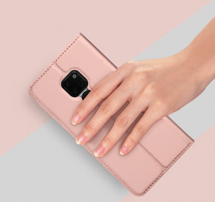 DUX DUCIS Skin knížkové pouzdro pro Huawei Mate 20 golden