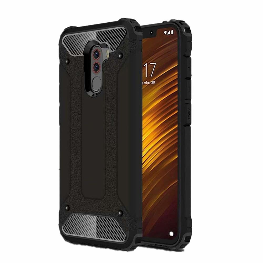 Hybrid pancéřové polykarbonátové pouzdro na Xiaomi Pocophone F1 black