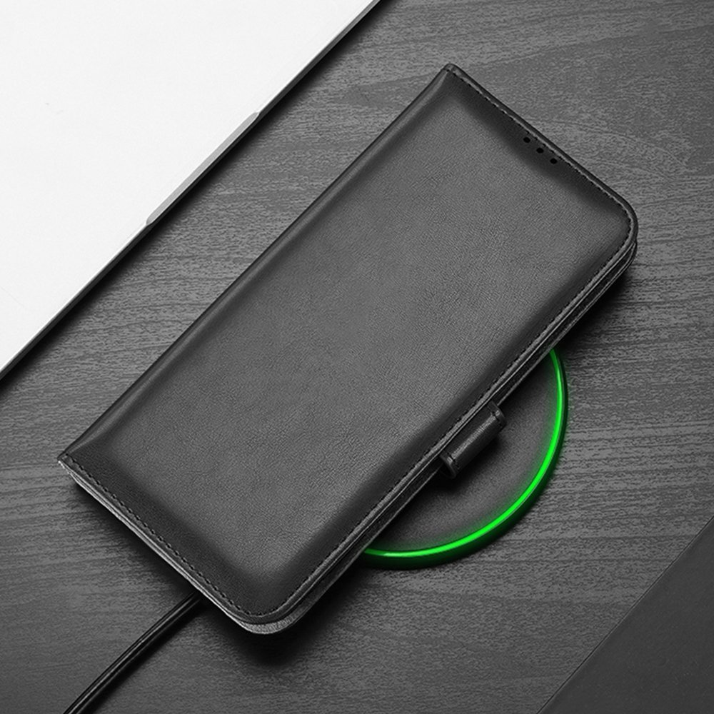 Dux Ducis Kado eko kůže knížkové pouzdro na Xiaomi Redmi Note 8 Pro black