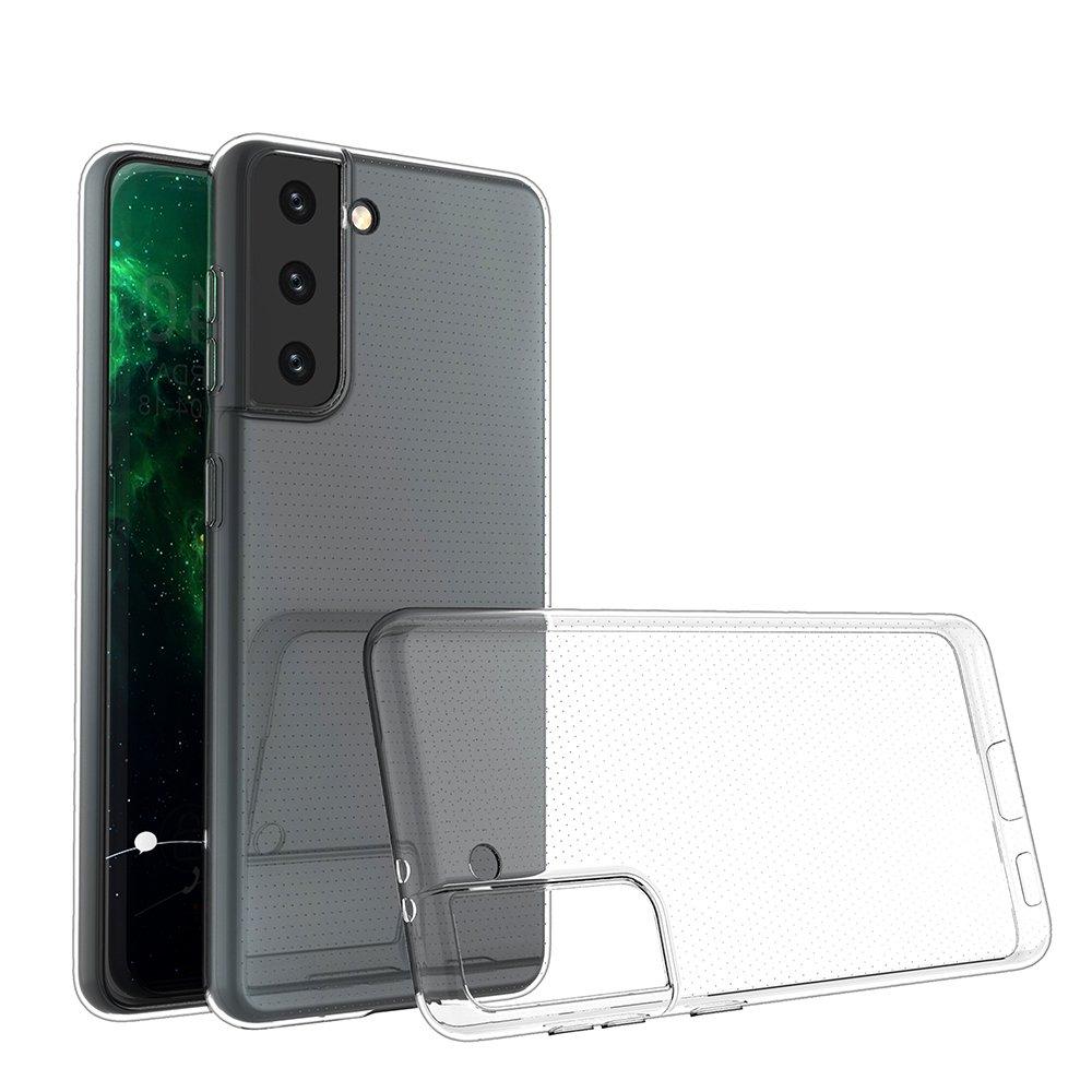 Ultra Clear 0.5mm silikónové puzdro pre Samsung Galaxy S21 5G transparent
